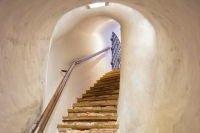 Escalier du Domaine du château de Montjean