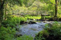 Pont au dessus de la rivière dans les gorges de Standala