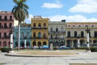 Façades typiques de La Havane