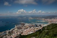 Vue sur le Détroit de Gibraltar