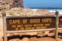 Panneau de la route de Bonne Espérance