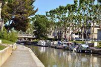 Le long du Canal de la Robine