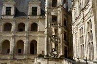Fenetres de la façade du Château Gaillard