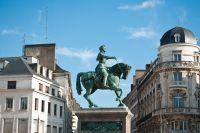 Statue de Jeanne d'Arc sur la Place du Martroi
