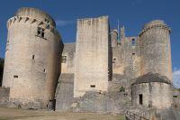 Tour et rempart du Château de Bonaguil
