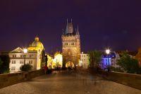 Vue de nuit sur la Cathédrale Saint-Pierre de Vannes