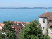 Vue aérienne sur le Lac de Constance