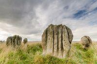 Rochers dans le parc naturel du Northumberland