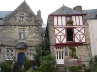 Façade d'une maison à Rochefort
